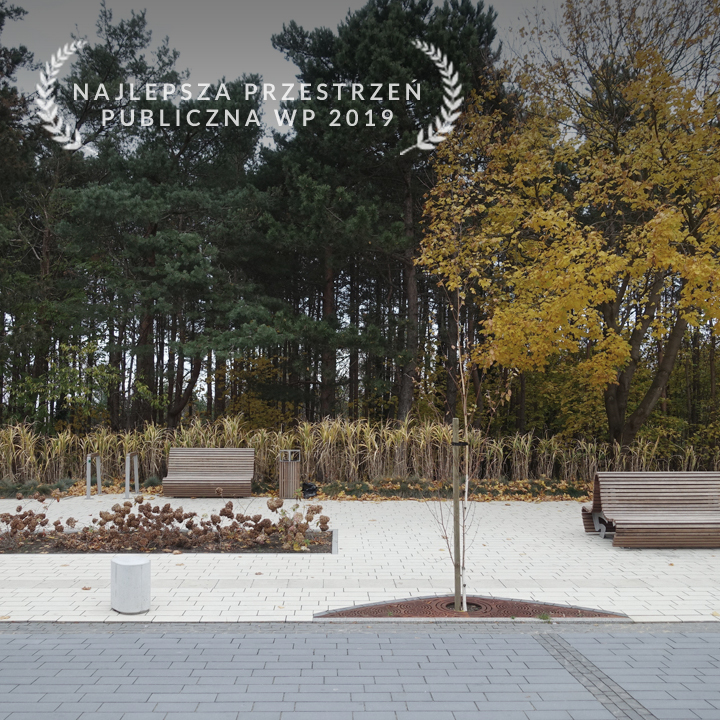 zagospodarowanie ulicy Hryniewieckiego - najlepsza przestrzeń województwa pomorskiego 2019